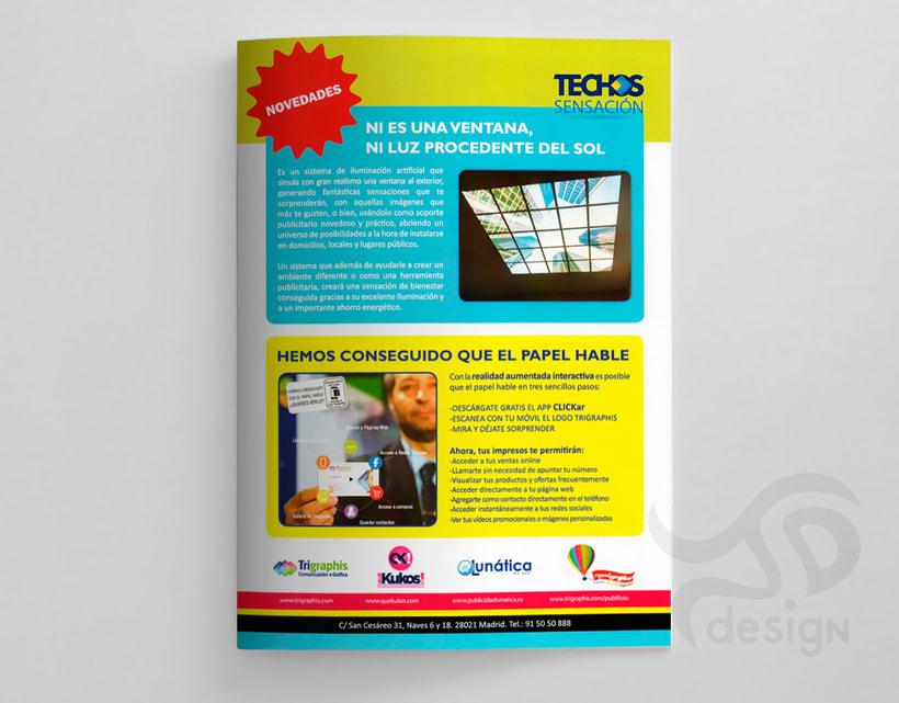 Proyecto editorial: díptico publicitario TRIGRAPHIS  5