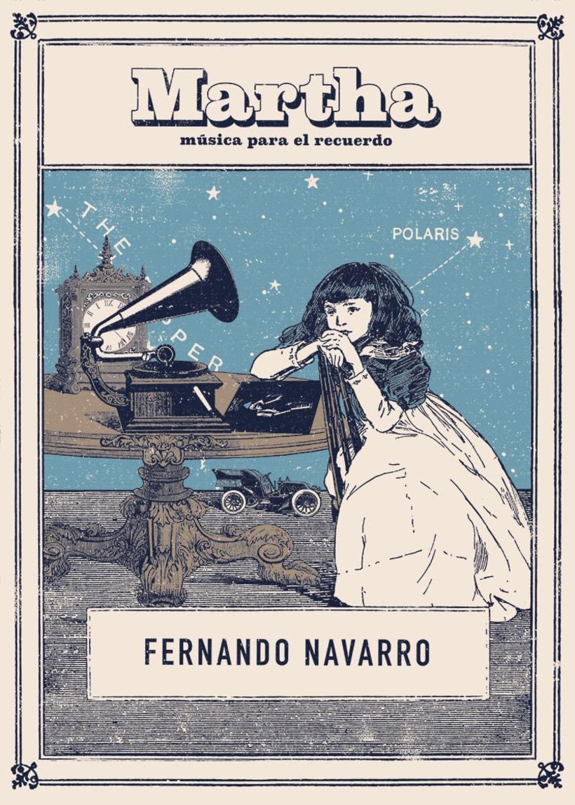 Martha, una novela de Fernando Navarro. 0