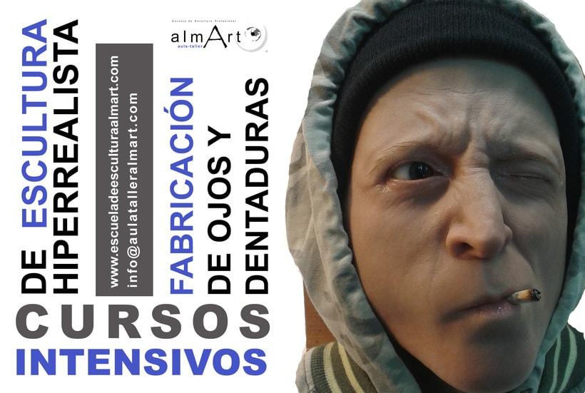 CURSOS INTENSIVOS ESCULTURA HIPERREALISTA Y FABRICACIÓN DE OJOS Y DIENTES 0