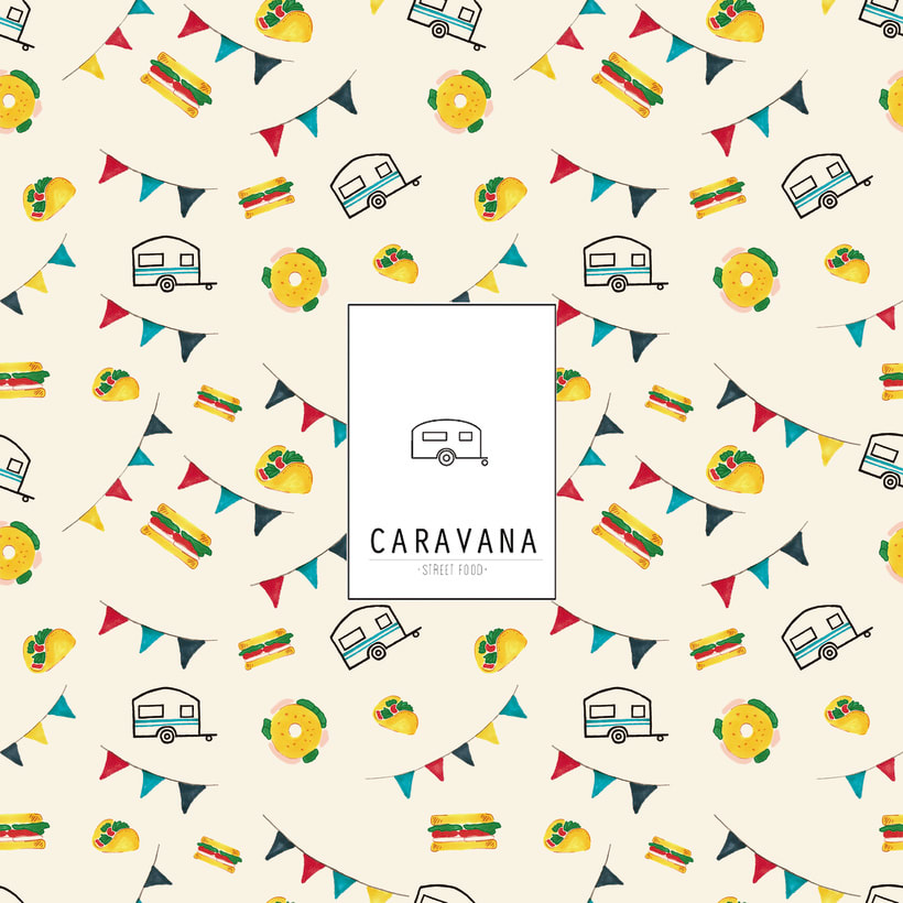"Packaging restaurante street-food ""Caravana"" 6"