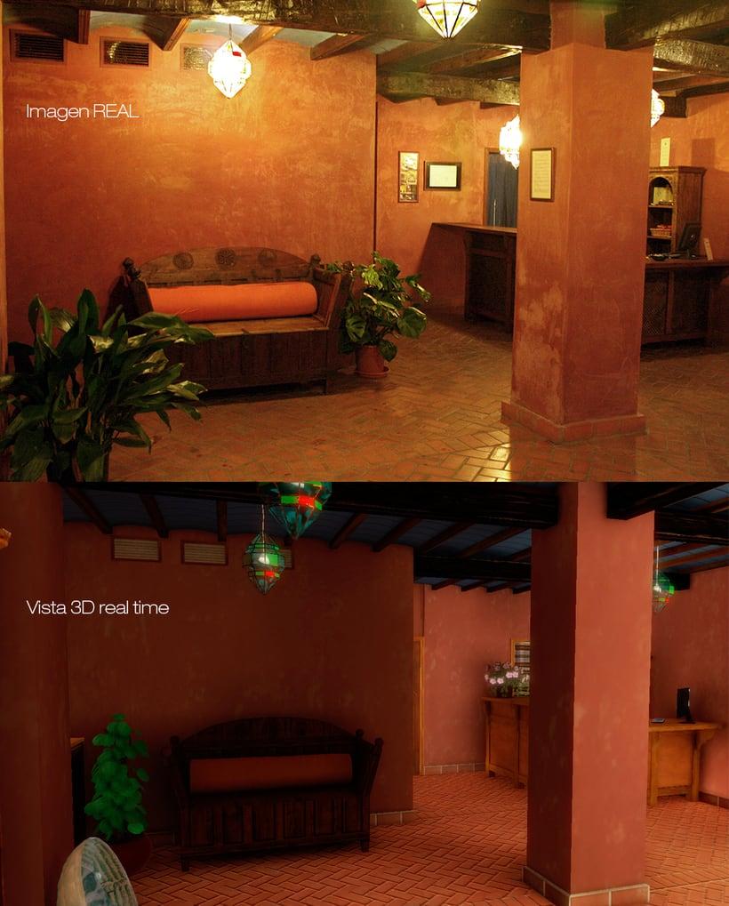 Aljibe San Miguel en 3D paseo en tiempo real 1