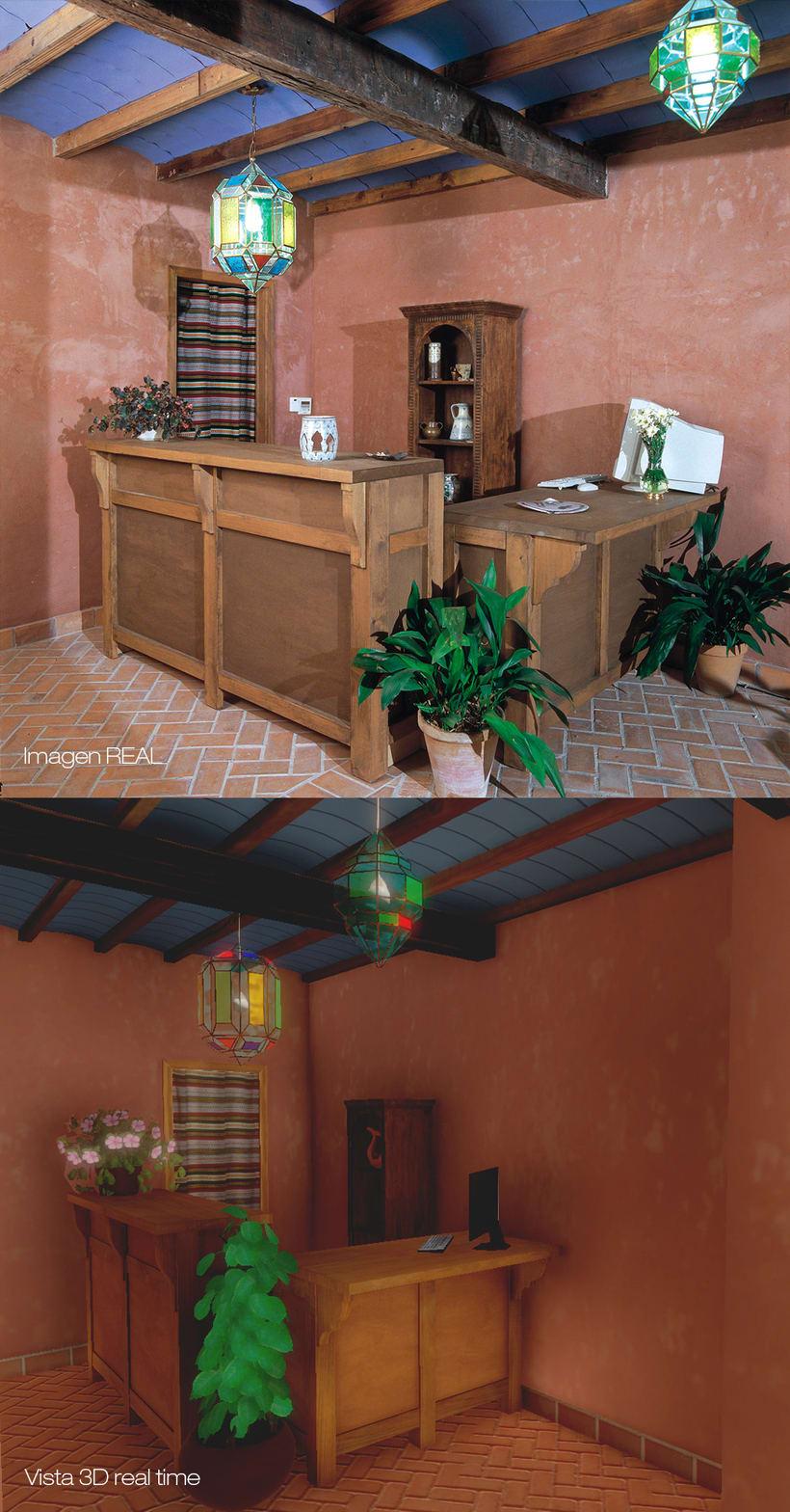 Aljibe San Miguel en 3D paseo en tiempo real 2