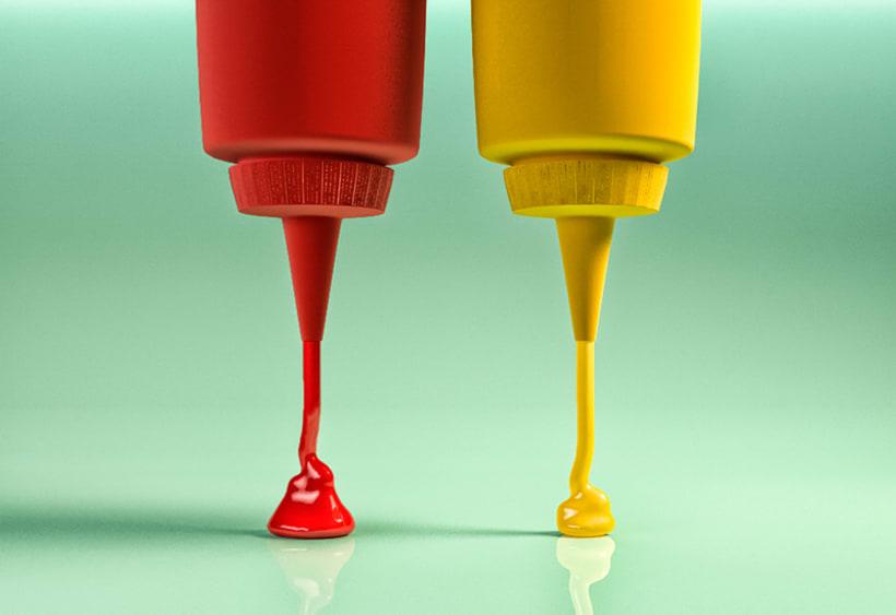 Ketchup or Mustard? -1