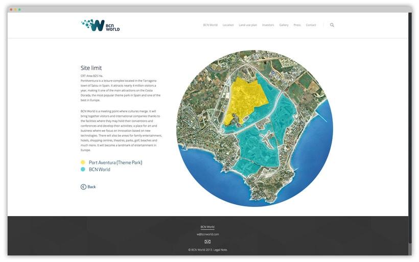 WEB Y APP PARA BCN WORLD 9