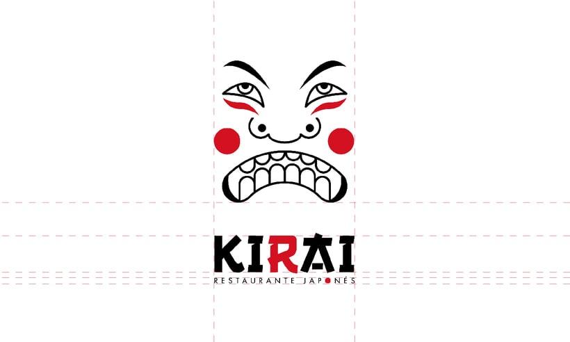 "Branding Restaurante Japonés ""KIRAI"" 3"