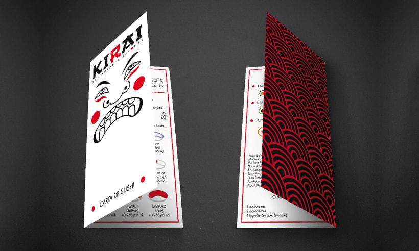 "Branding Restaurante Japonés ""KIRAI"" 8"