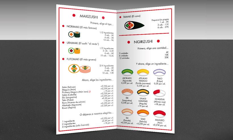 "Branding Restaurante Japonés ""KIRAI"" 9"