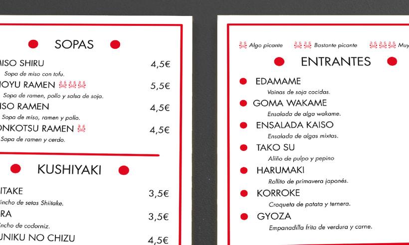 "Branding Restaurante Japonés ""KIRAI"" 10"