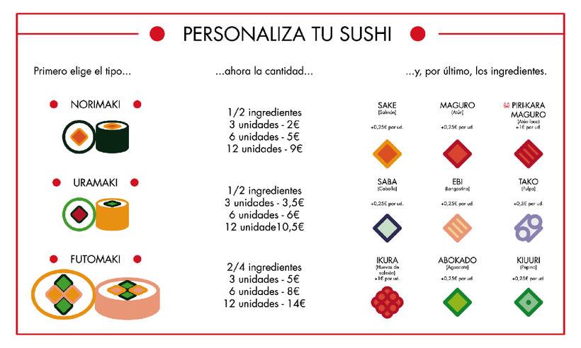 "Branding Restaurante Japonés ""KIRAI"" 11"