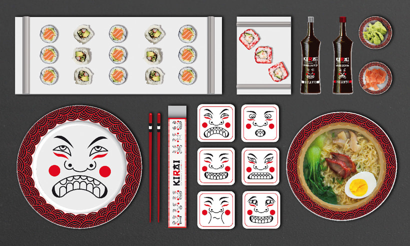 "Branding Restaurante Japonés ""KIRAI"" 13"