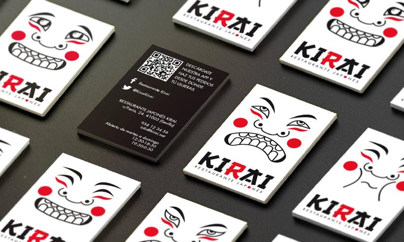 "Branding Restaurante Japonés ""KIRAI"" 6"