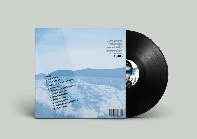 Rediseño vinilo Oasis 0