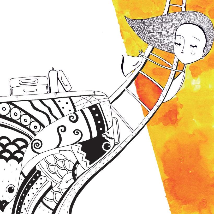 Colección de Tarjetas Ilustradas (El libro de los abrazos - Eduardo Galeano) 2