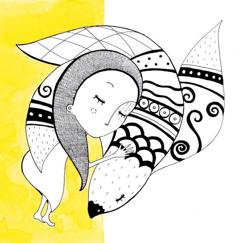 Colección de Tarjetas Ilustradas (El libro de los abrazos - Eduardo Galeano) 6