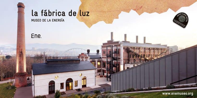 Flyer para La Fábrica de Luz. Museo de la Energía 7