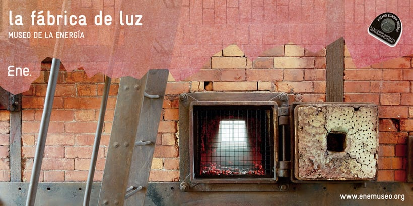 Flyer para La Fábrica de Luz. Museo de la Energía 8