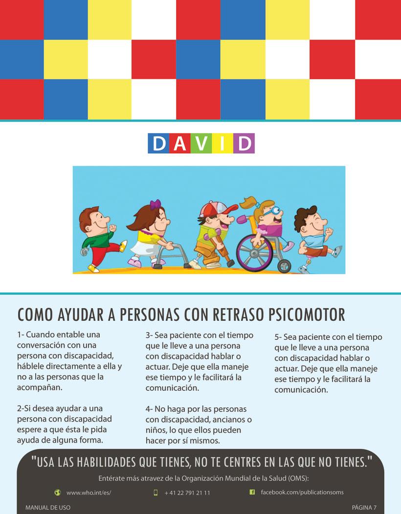 Manual de juego para niños con retraso psicomotor. 8
