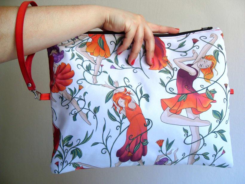 Estampado textil para bolso 1