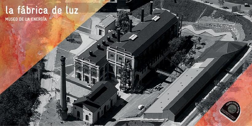 Flyer para La Fábrica de Luz. Museo de la Energía 11