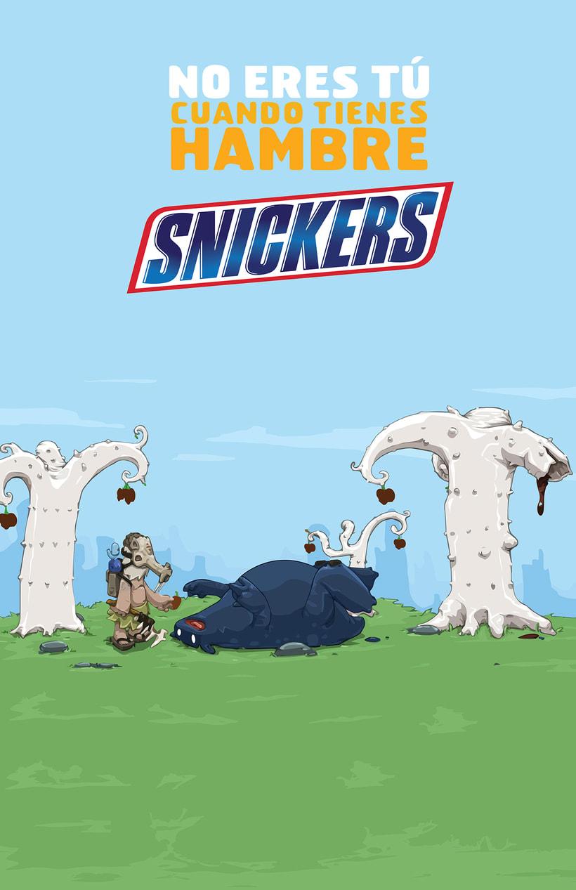 Publicidad de Snickers 0