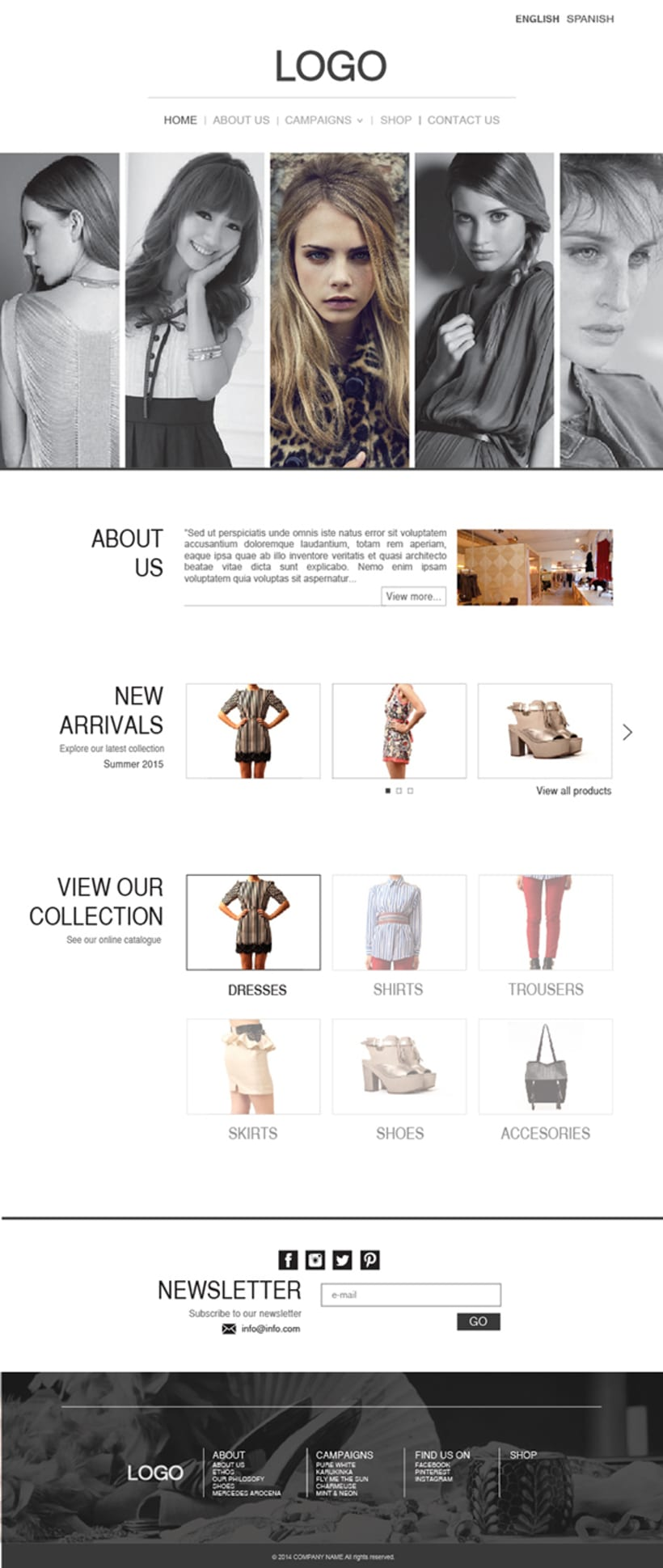 Fashion Store Web 0