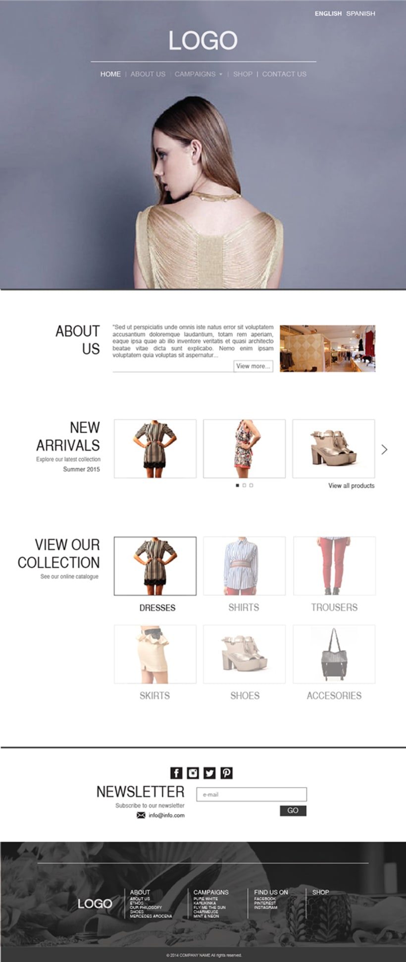 Fashion Store Web 1