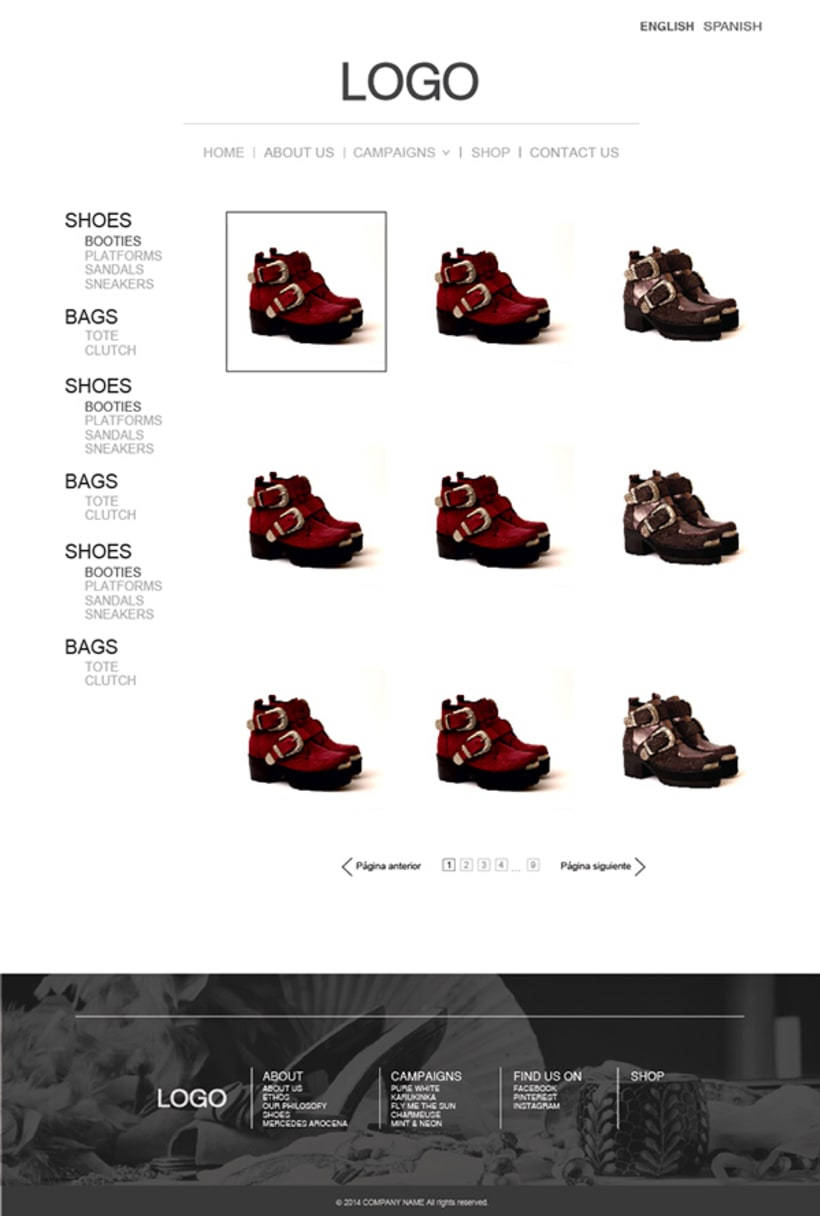 Fashion Store Web 4