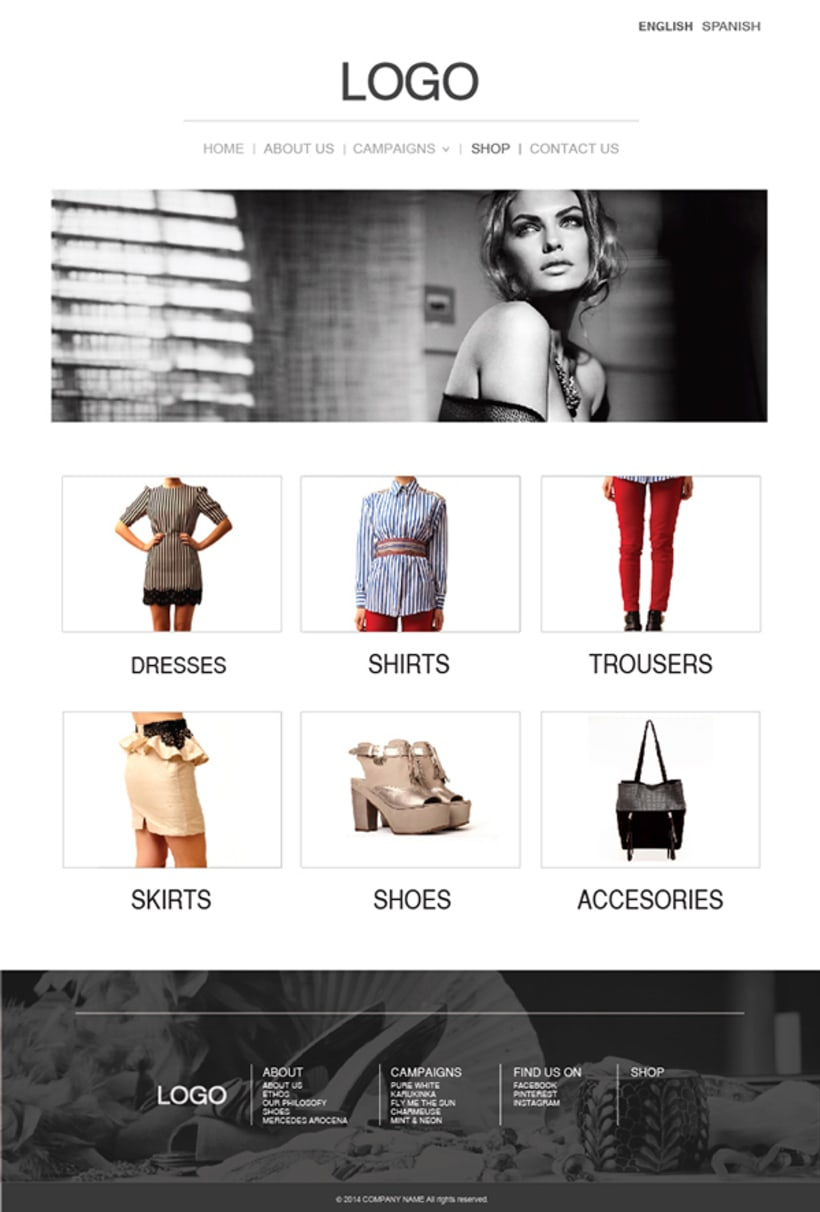 Fashion Store Web 3