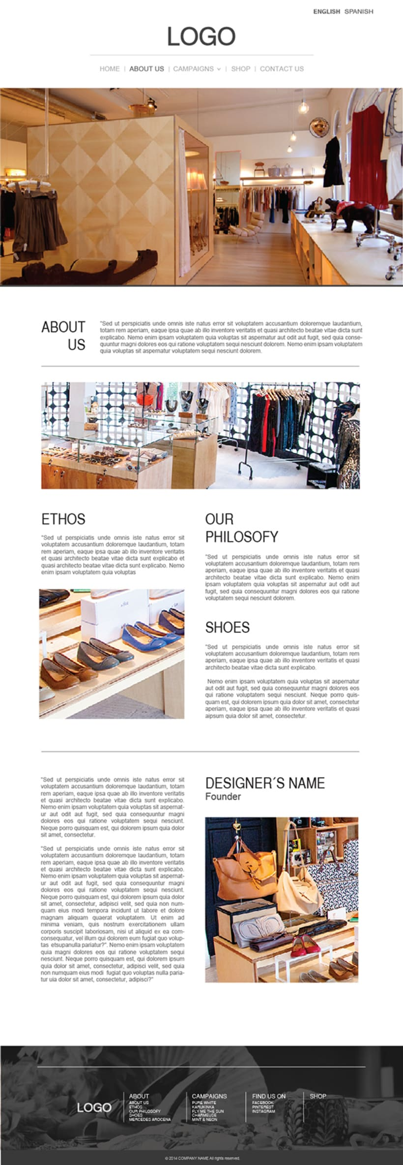 Fashion Store Web 2
