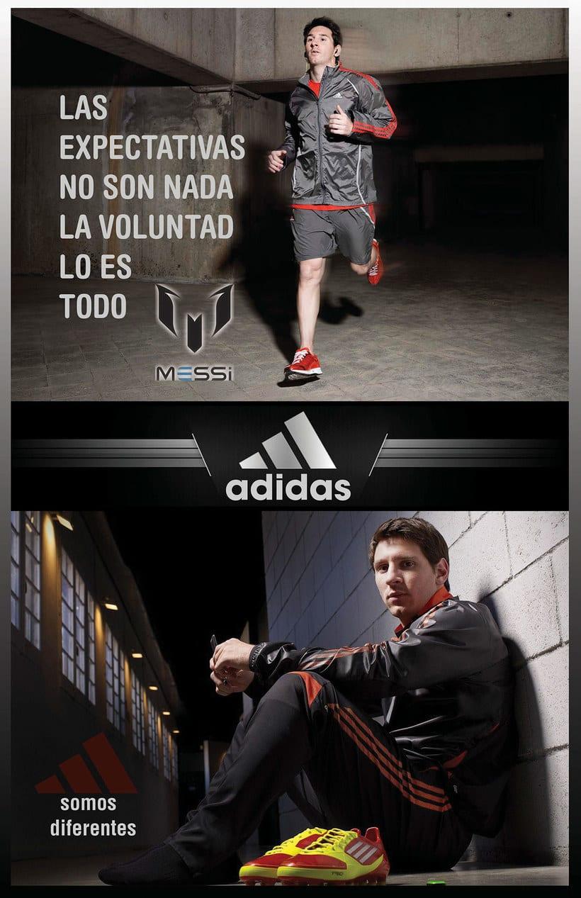 Publicidad para Adidas de Lionel Messi 0