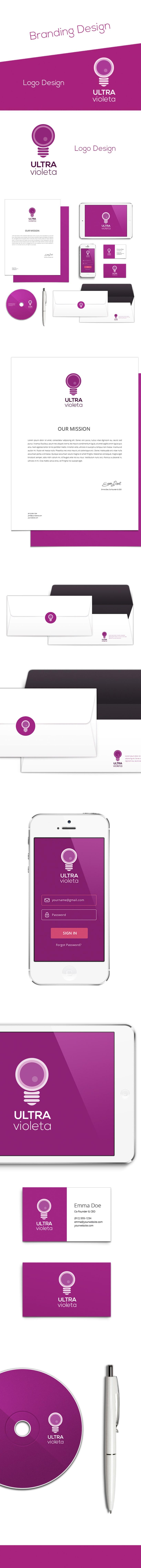 Publicity company´s branding design -1