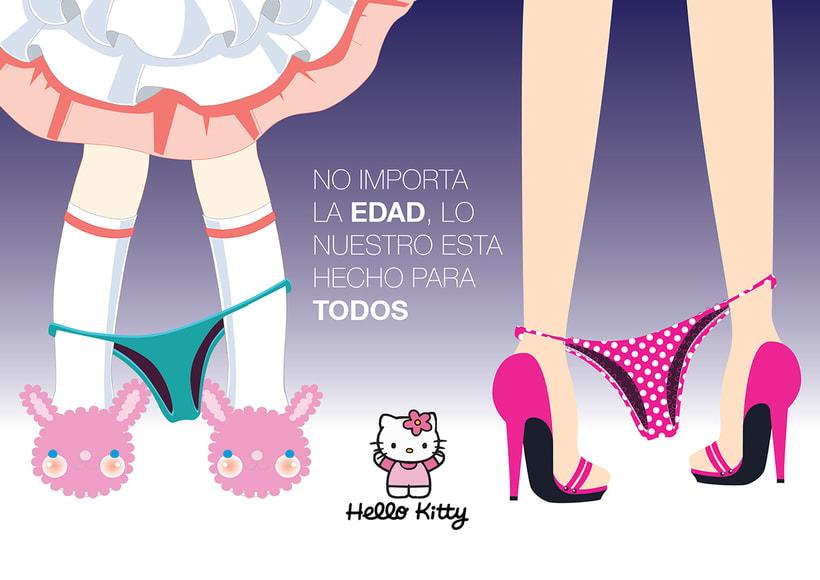 Publicidad antiética de Hello Kitty. 0