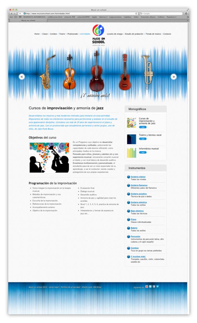 Web musiconschool 1