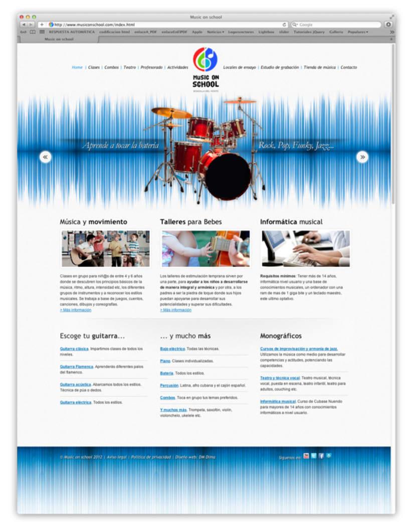 Web musiconschool 2