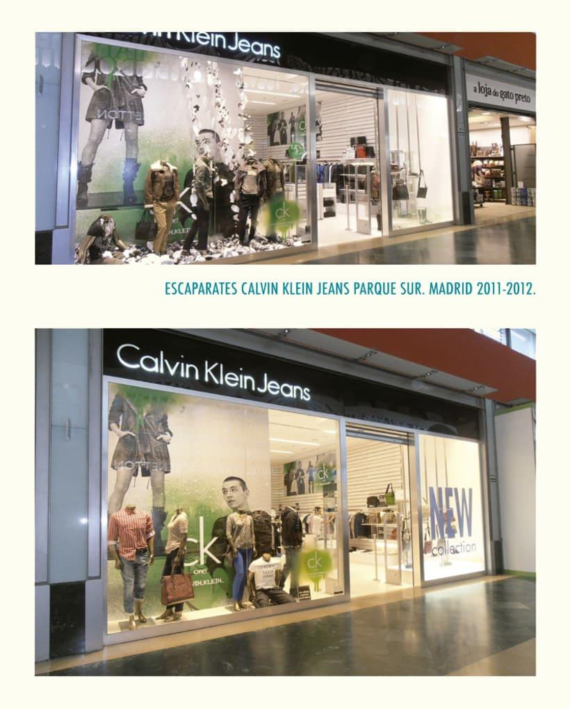 Littleno y Calvin Klein. 1