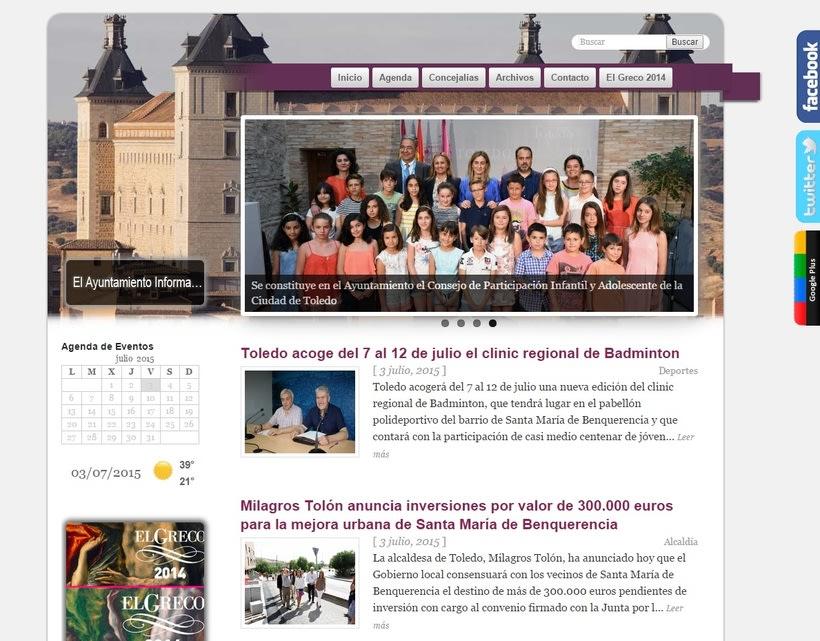 Gabinete de Prensa y Comunicación del Excmo. Ayuntamiento de Toledo 0
