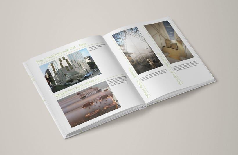 Diseño editorial para estudio de arquitectura 2