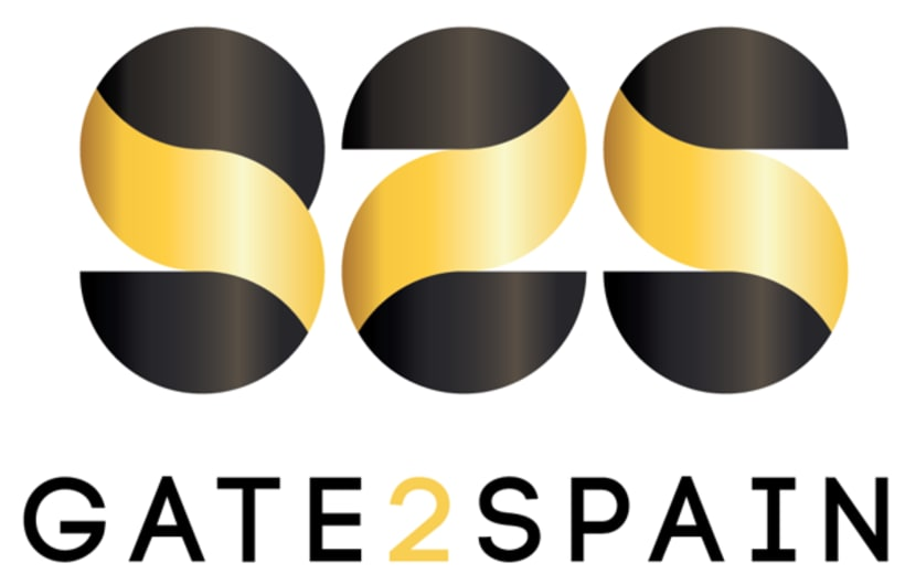 Diseño de logotipo Gate2Spain 1
