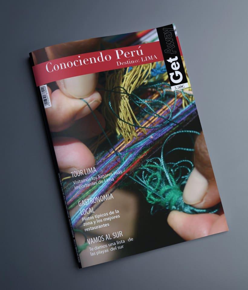 Revista de Viaje- diseño editorial 0