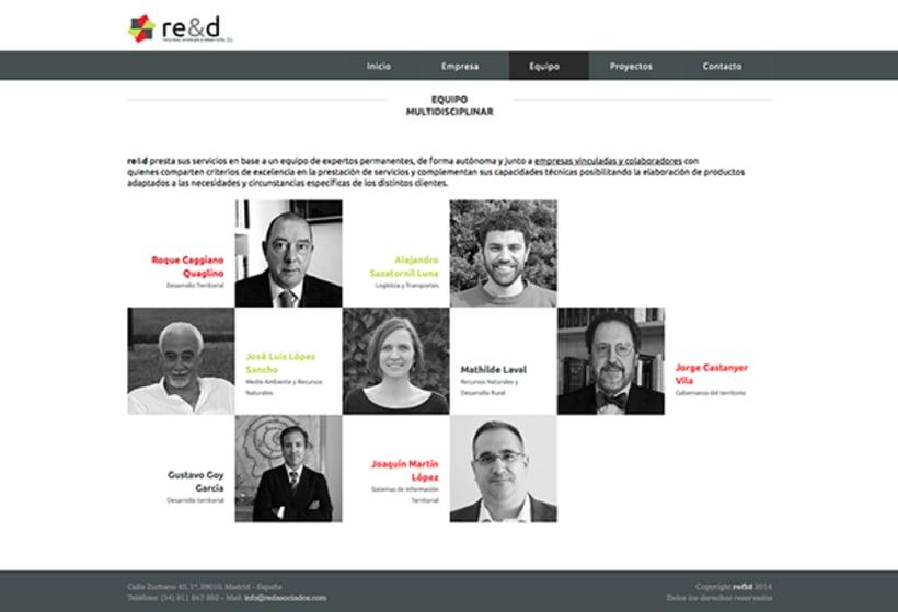 Diseño y maquetación web en wordpress 2