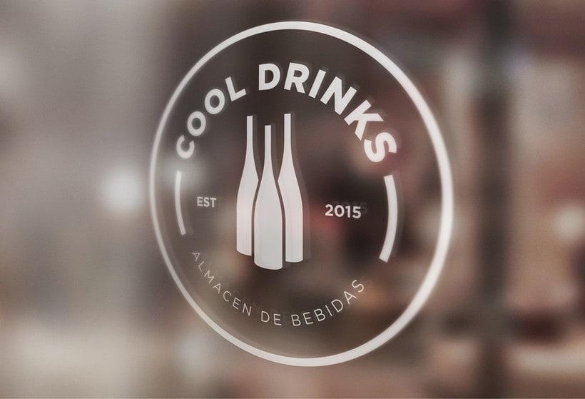 BRANDING / IDENTITY  - COOL DRINKS  3