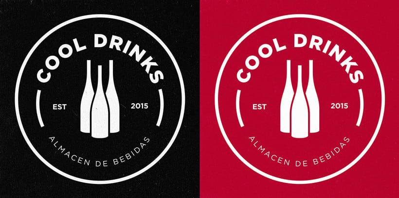 BRANDING / IDENTITY  - COOL DRINKS  1
