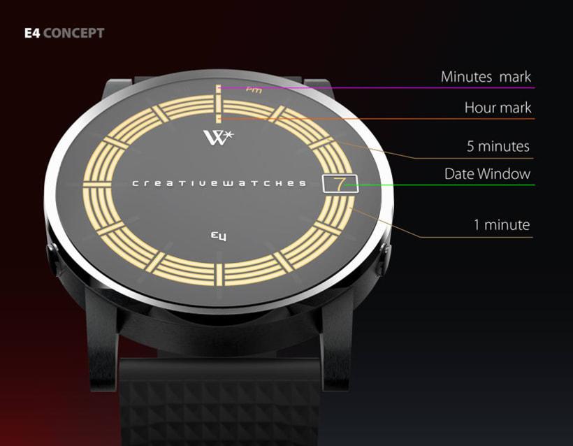 E4 - Analogic watch concept 1