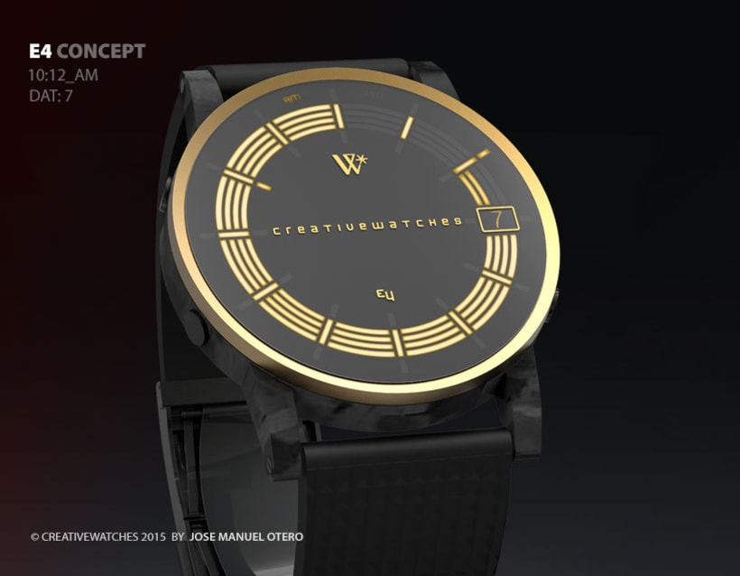 E4 - Analogic watch concept 3