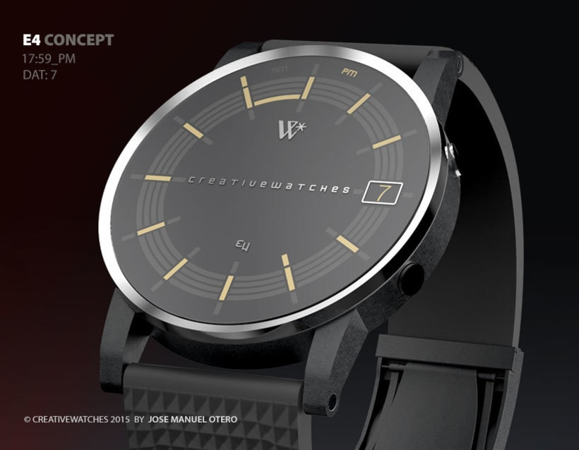E4 - Analogic watch concept 5