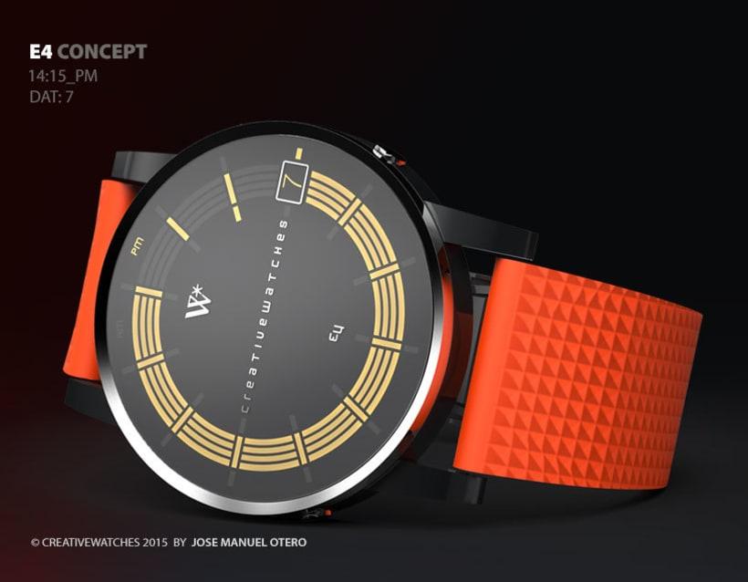 E4 - Analogic watch concept 6