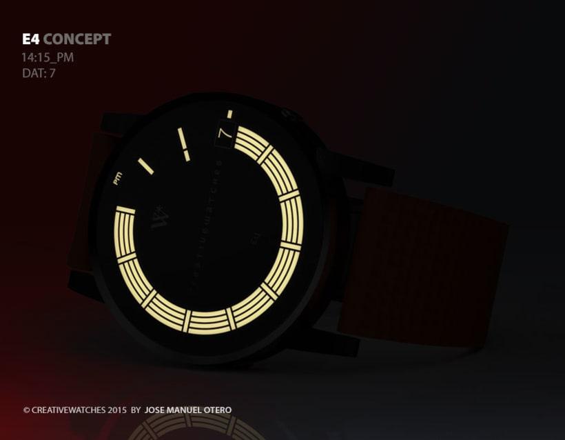 E4 - Analogic watch concept 7