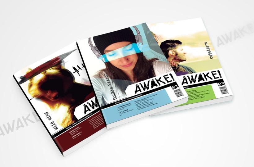Revista AWAKE! - Diseño editorial 0