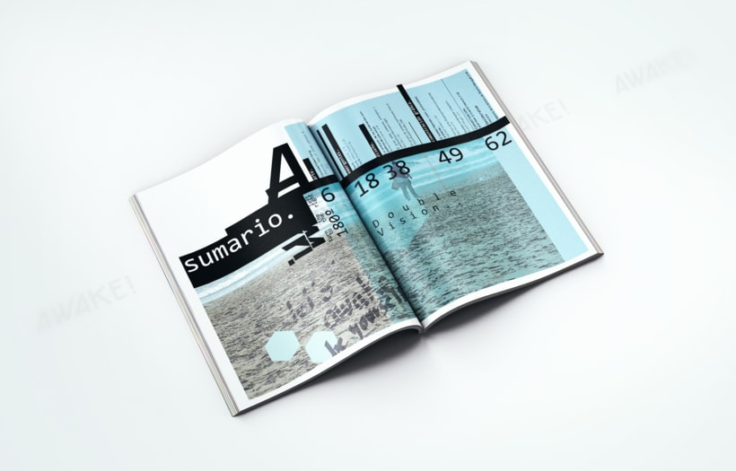 Revista AWAKE! - Diseño editorial 2
