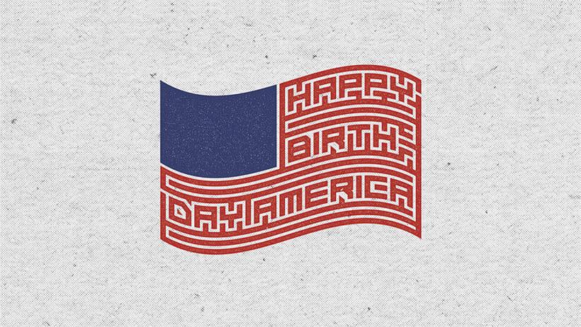4 de Julio - Happy Birthday  0